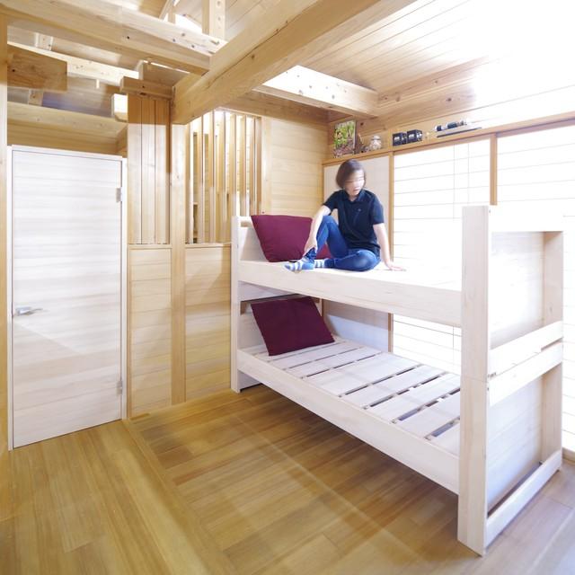 もみの木ベッド 2段ベッドセット