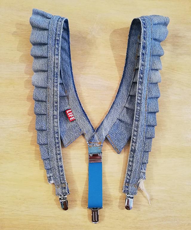 Gyoza Suspender / Turquoise