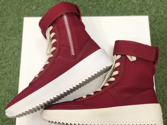FEAR OF GOD MILITARY SNEAKER for MAX FIELD 41 0635
