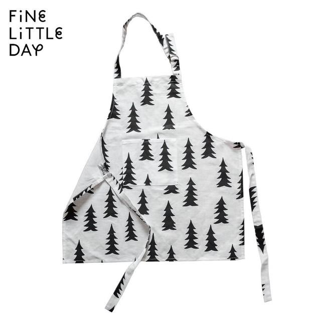 【 メール便対応商品 】Fine Little Day エプロン子供用 W56 x D57 cm 北欧 スウェーデン 自然 ナチュラル デザイナーズ ブランド シンプル スタイリッシュ