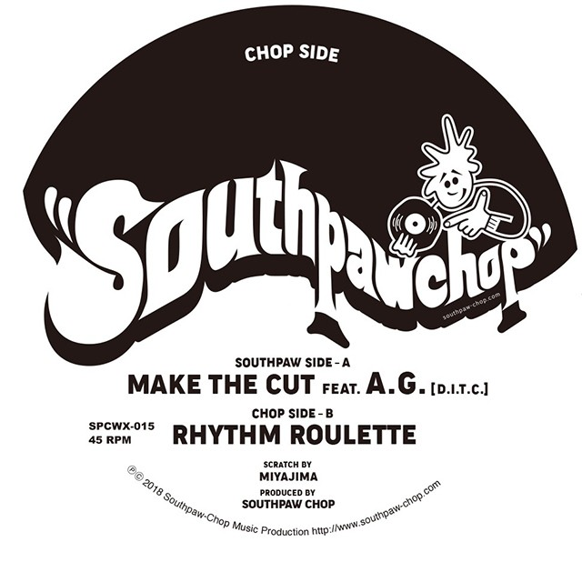 "【7""】Southpaw Chop - Make The Cut feat. A.G."