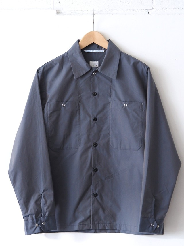 N.O.UN Union Shirt Gray,Wine