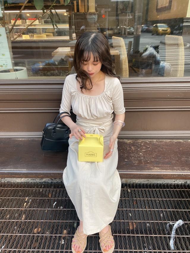 【LAST2】DAYNYC Linen knot Sk