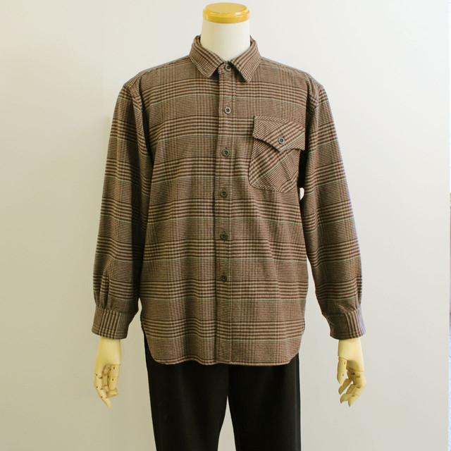 FilMelange フィルメランジェ CLIFTON クリフトン  ウールシャツ 【メンズ】