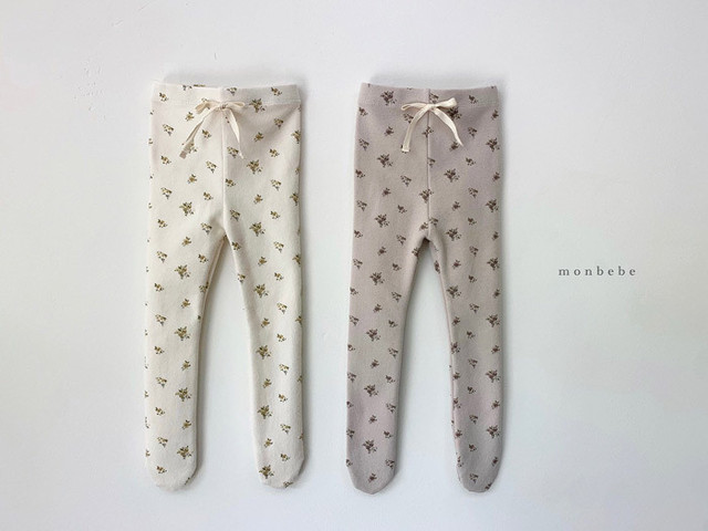 《 Reserved item 》NO.931 flower tights  /  monbebe