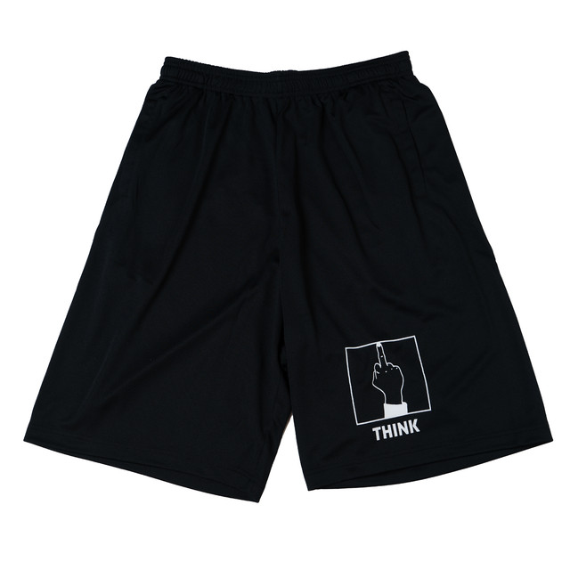 【DRY】THINK DRY SHORTS (BLACK×WHITE)