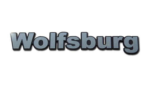 vw フォルクスワーゲン peytonオリジナルエンブレムシリーズ 「wolfsburg」 Lサイズ