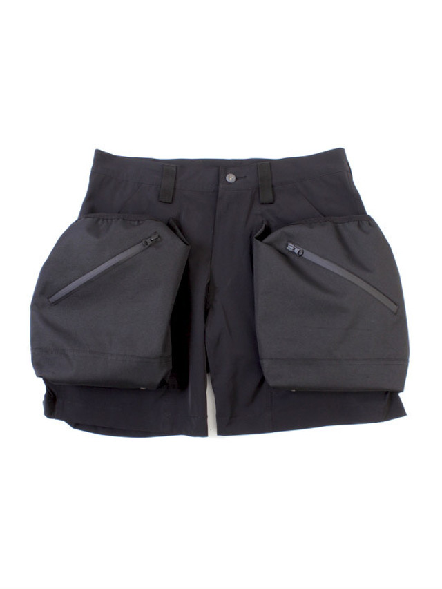 TROVEx岡部文彦 / BIG POCKET SHORTS Ver:7( TYPE ACTIVE-4WAY  STRETCH) / BLACK