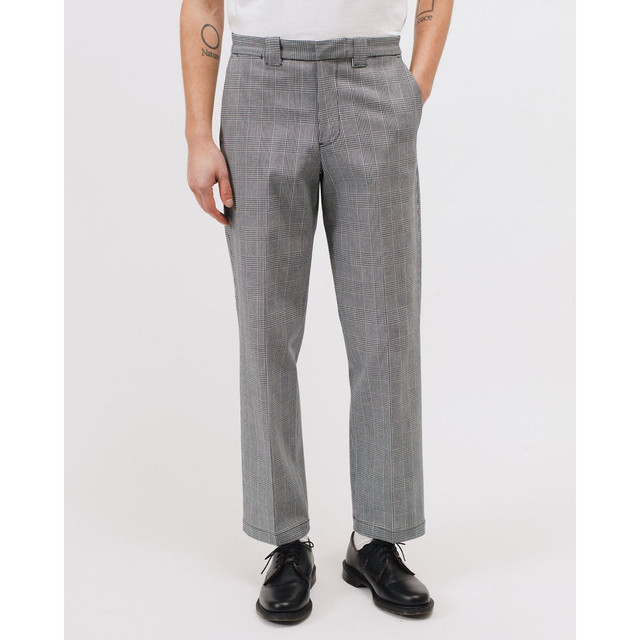 MAIDEN NOIR WORK TROUSER - GLEN CHECK