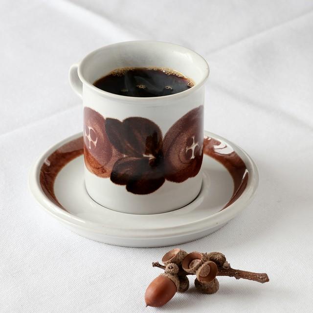 ARABIA アラビア Rosmarin ロスマリン コーヒーカップ&ソーサー - 9 北欧ヴィンテージ