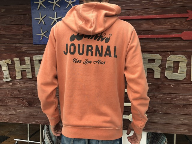 【BANKS】 SCRYPTO FLEECE (rust)
