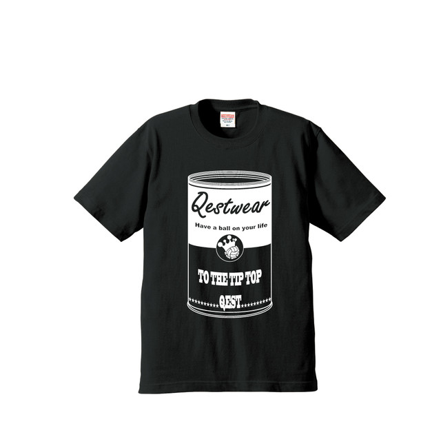 Soup Cans T Shirt / Black - メイン画像