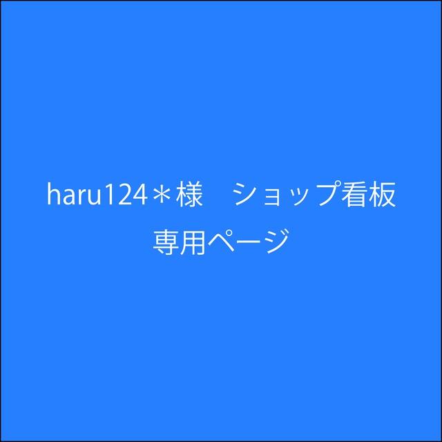 haru124*様専用 ショップ看板 フルオーダー
