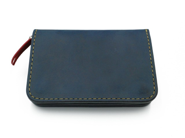 6inch G.WALLET (CHAIN STITCH)