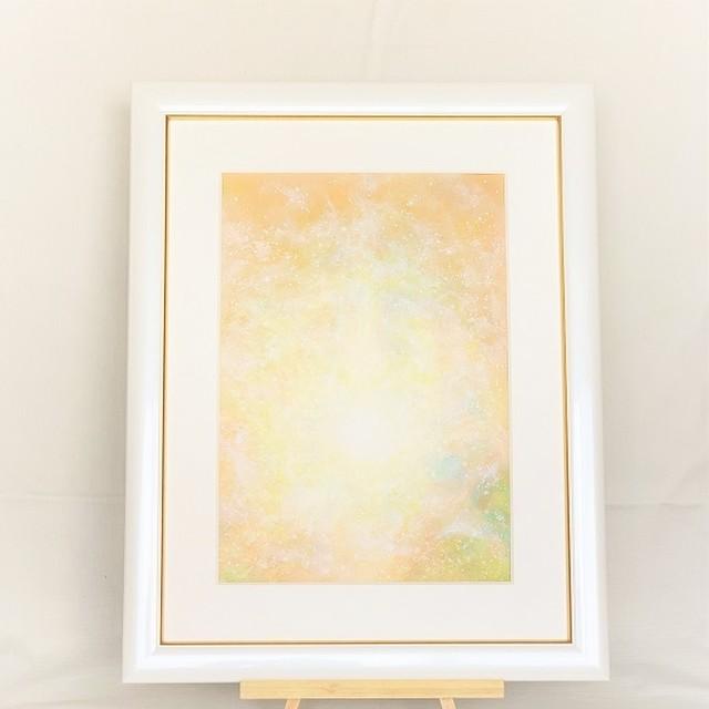ヒーリングアート 太陽からの贈り物 ~愛の光~ 風水画