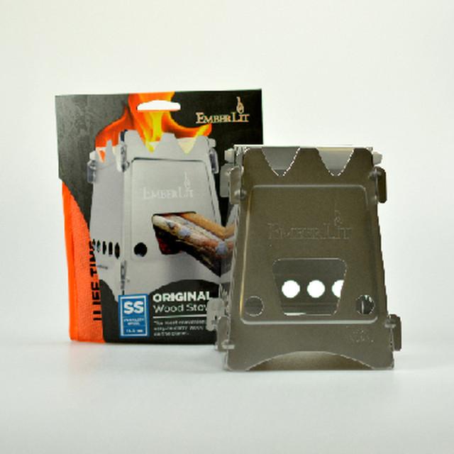 Bush Craft Inc ブッシュクラフト Emberlit ステンレス ウッドストーブ  火おこし 自然派 キャンプ アウトドア サバイバル 06-02-embe-0001