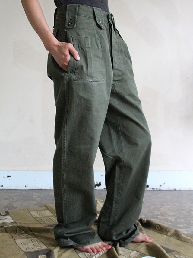 70s Military pants