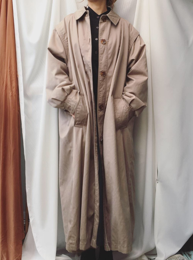 vintage long coat