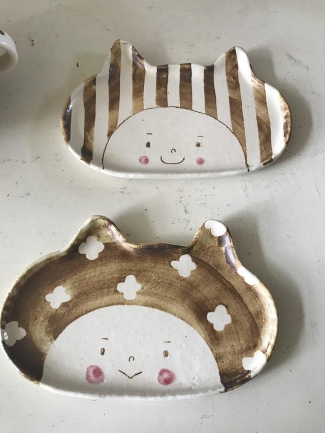 ひつじのてしごと 顔シリーズ お皿
