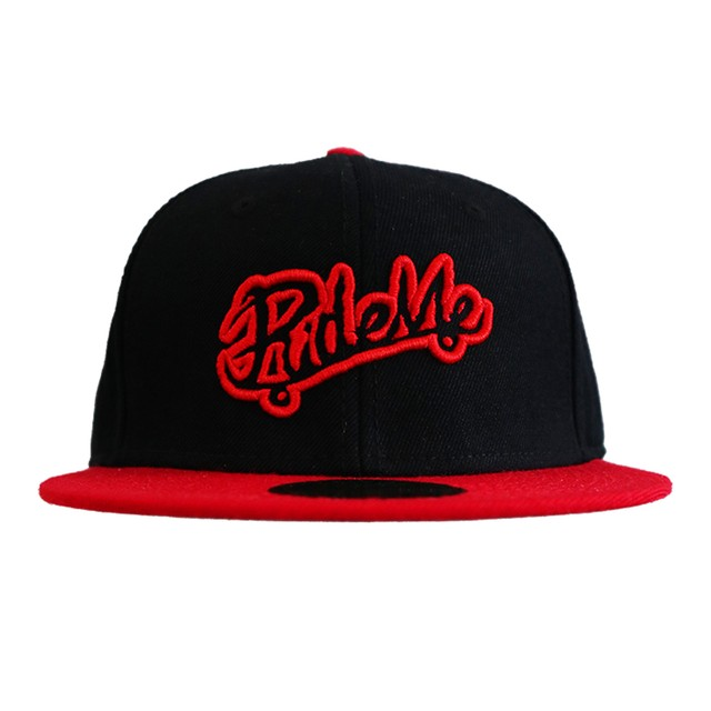【RideMe | ライドミー】Snap Back Cap RED&BLACK