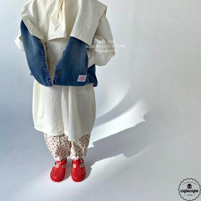 «予約» go.u denim vest 2colors デニムベスト