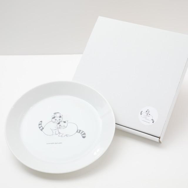 ねこねこ食器 プレート(22㎝)【送料・税込】