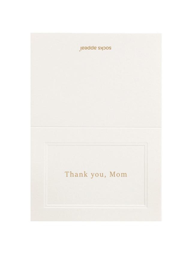 -母の日ギフト- メッセージカード・MESSAGE CARD【Thank you, Mom】