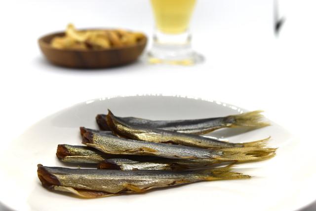 太刀魚(タチウオ)の燻製