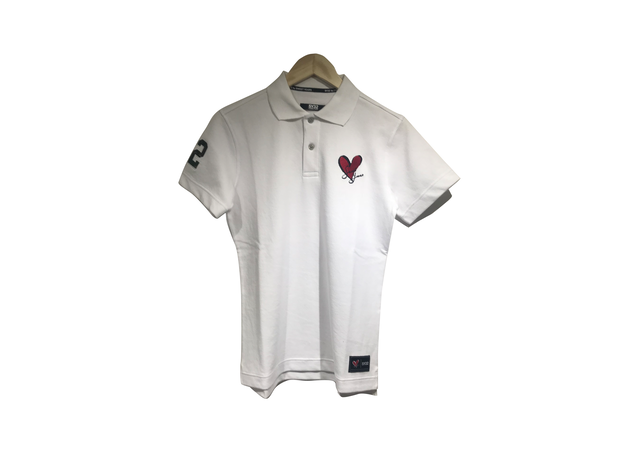 HEART LOGO POLO