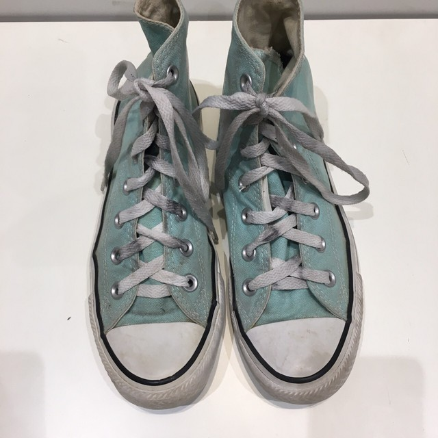 """USED """"  CONVERSE ALL STAR Frozen mint HI """""""