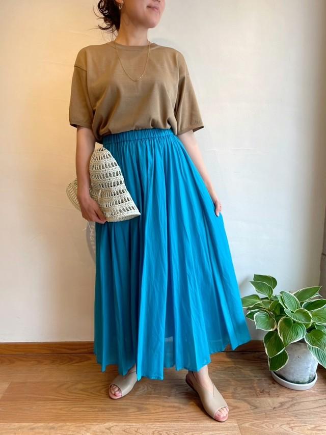 Dignite Collier / コットン100%スカート(デザインカラー)