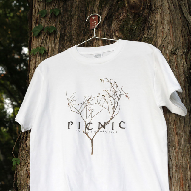 "Picnic Tee ""Tree Branch"""