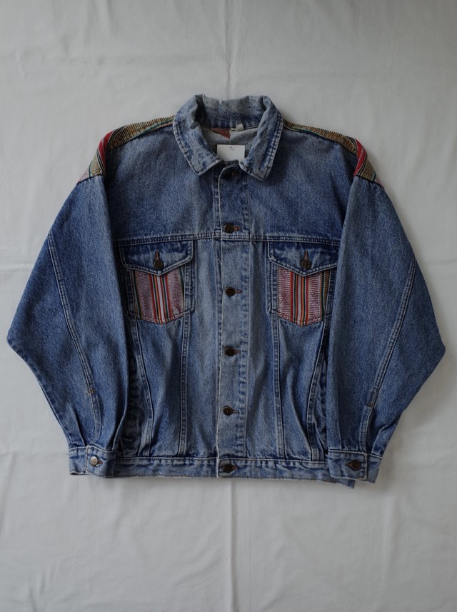 Used hippie denim jacket
