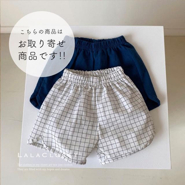 4/18(日)〆【お取り寄せ商品】Linen Short Pants (ボトムス) Aosta