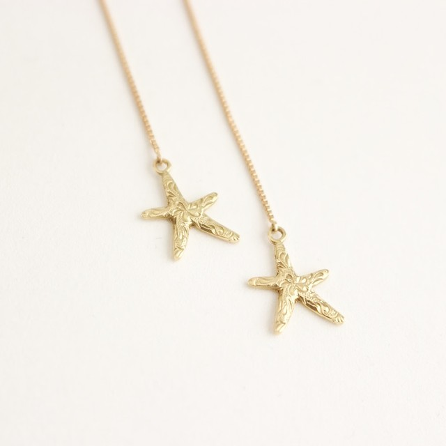 PETIT STARFISH AMERICAN EARRINGS