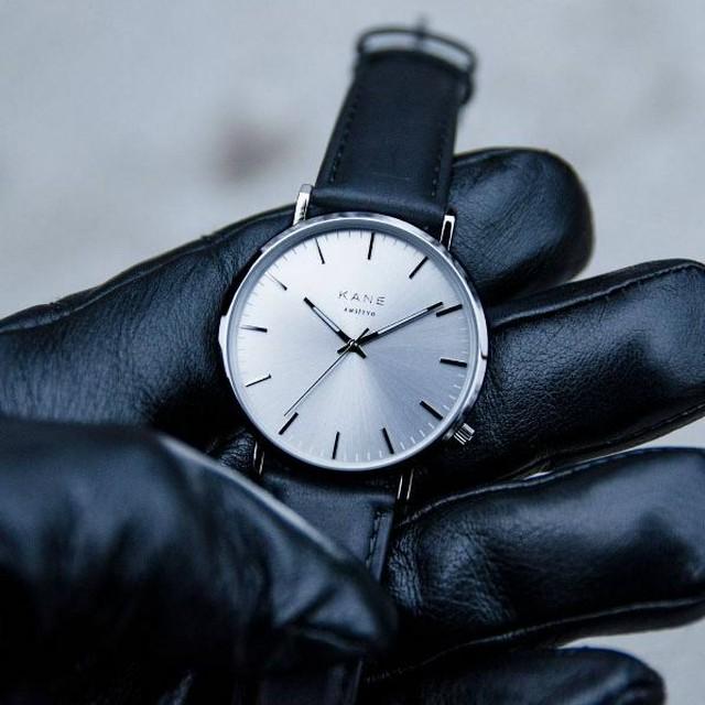 ■ケイン シルバースティール クラシック 腕時計 39㎜ SS-02