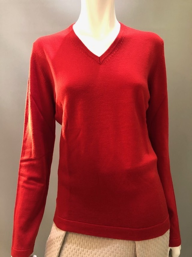AndreMaurice イタリア製 Vネックセーター 20413