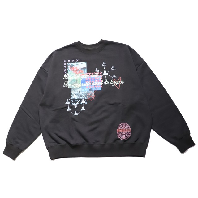 MINDSEEKER Crewneck Sweat Tops