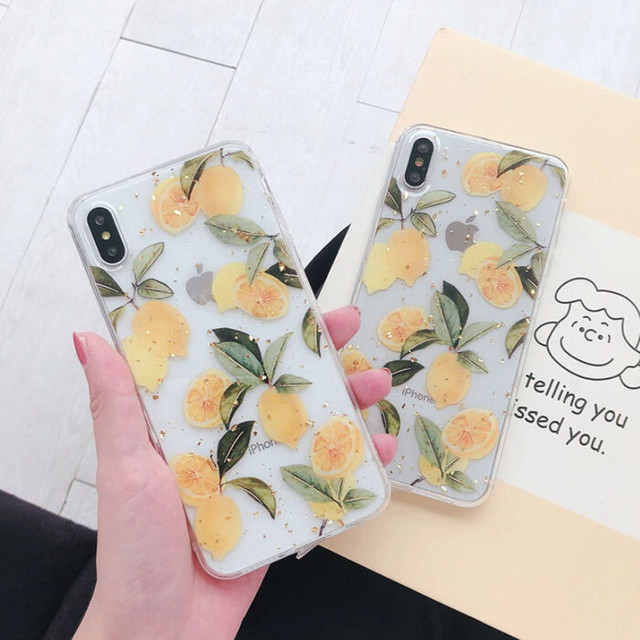 【オーダー商品】Lemon  iphone case