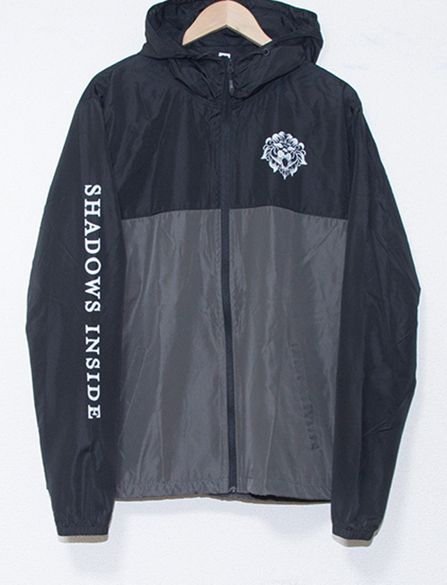 【MISS MAY I】Shadow Inside Windbreaker (Black/Grey)