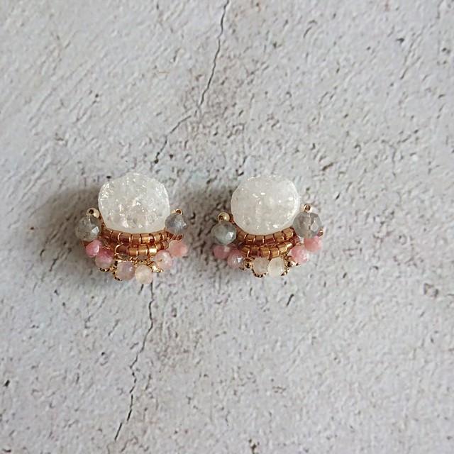 10月 Birthstone Ear jewelry