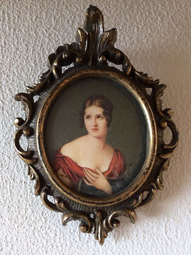 Antique Frame with print
