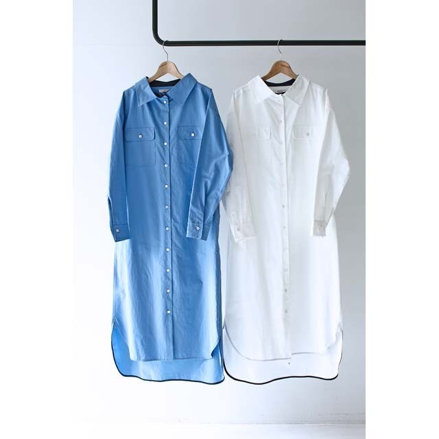 【CINOH】 Maxi Shirt Dress