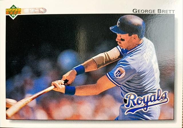 MLBカード 92UPPERDECK George Brett #444 ROYALS