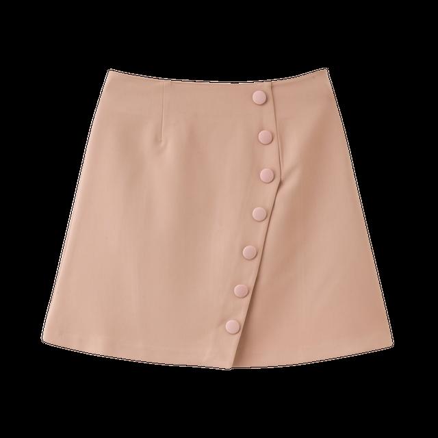 デザインボタンスカート.