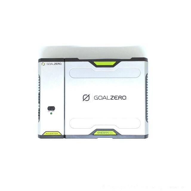 Goal Zero Sherpa 100 V2 Solar AC Kit
