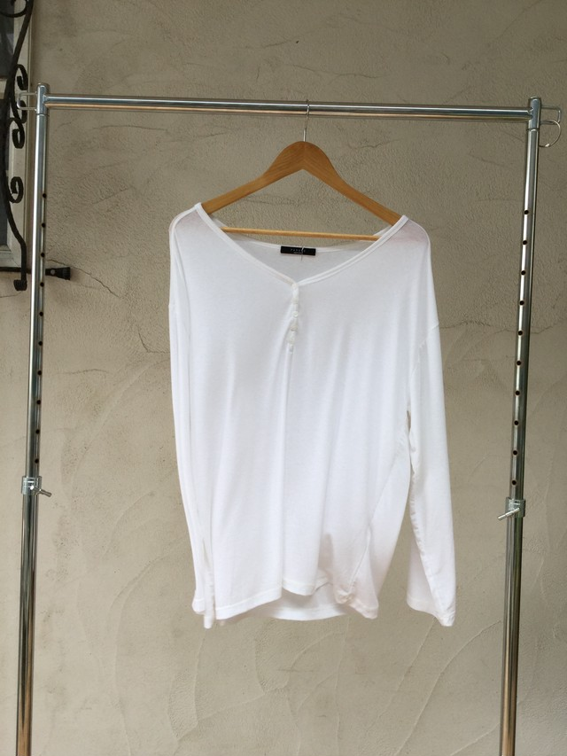 Henry Wide L/S Tee《WHT》