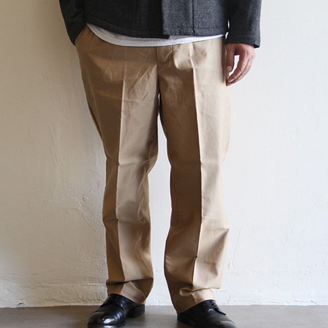 STILL BY HAND  【 mens 】 moleskin pants