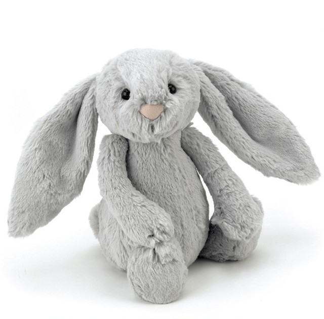 Bashful Silver Bunny Medium_BAS3BS