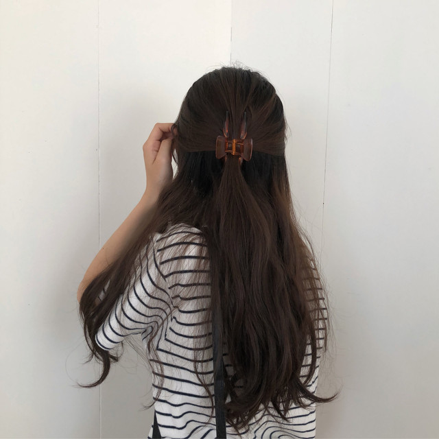 signal hair clip